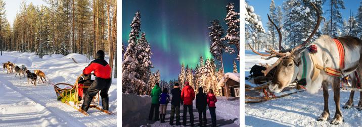 Puente de Diciembre en Laponia: En busca de la Aurora Boreal