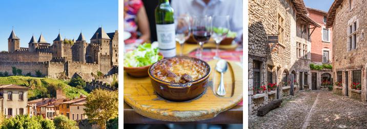 Puente Octubre: Amigos entre vinos y cassoulets: Carcassonne & Narbonne