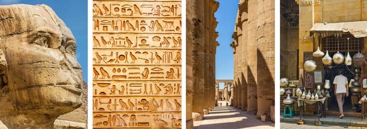 Fin de Año en Egipto. Grandes Civilizaciones