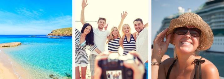 Septiembre: Crucero Sol, playa & friends