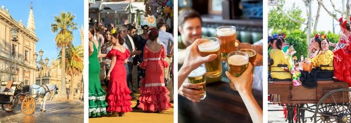 Feria de Sevilla: Amigos y diversión 10 a 12 de Mayo