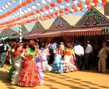 Feria de Sevilla: Amigos y diversión