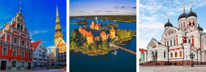 Junio: Crucero Báltico. Las ciudades más bellas del Norte