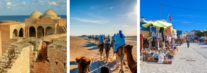Marzo en Túnez. Salida especial Desierto & Isla de Djerba