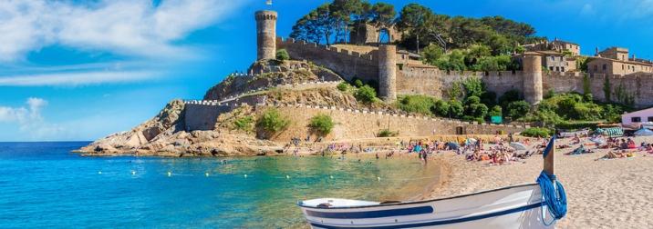Semana Santa en Tossa de Mar: Costa Brava y Caminos de Ronda