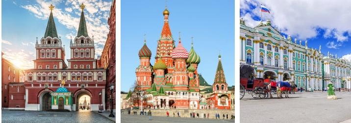 Agosto en Rusia. Tierra de palacios y Zares