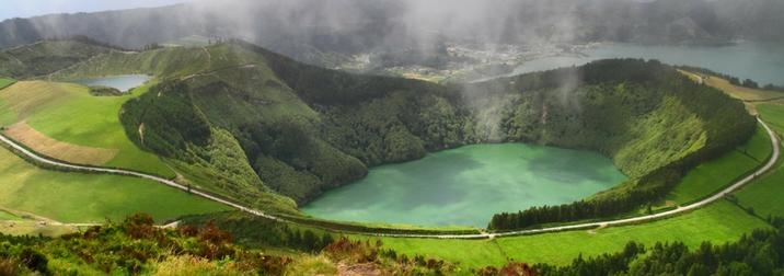 Agosto en Isla Sao Miguel. Islas Azores