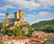 Carcassone y Ruta de los Castillos Cátaros