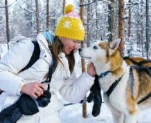 Fin de año Single en la Laponia Noruega