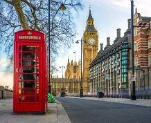 Fin de año en Londres.