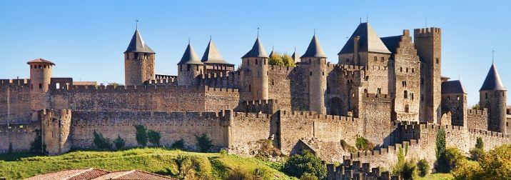 Toulouse y Carcassonne.Ruta de los Cátaros y del Vino