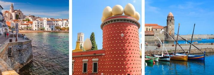 Alt Empordà y Sur de Francia. Tras los pasos de Dalí y Machado.