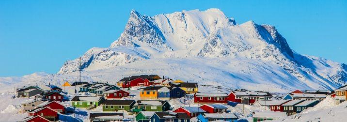 Groenlandia: Glaciares, Inuits, & Auroras Boreales
