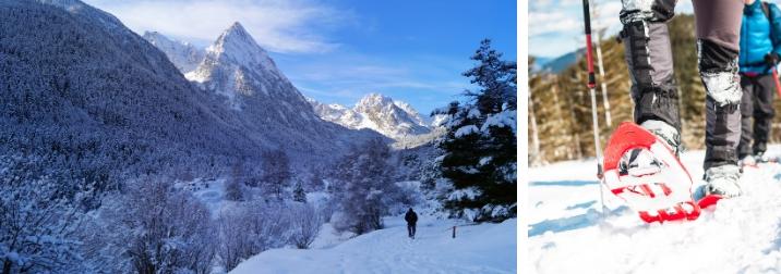 Fin de semana. Nieve, raquetas y refugios de montaña