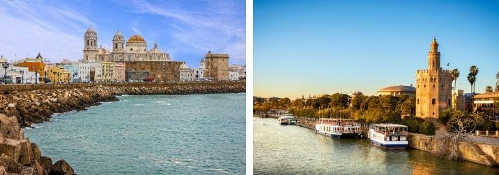 Fin de año en Cádiz y Sevilla