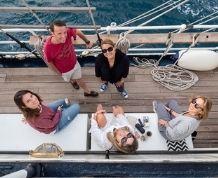 Travesia EXCLUSIVA en Goleta por Ibiza y Formentera