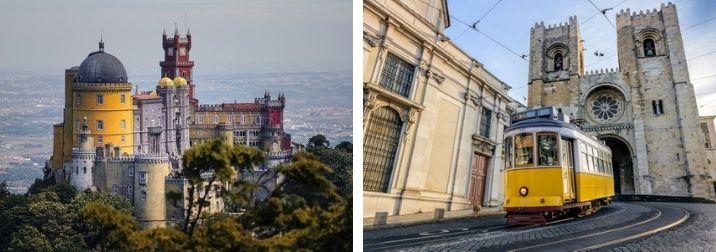 Lisboa y sus alrededores de cuento