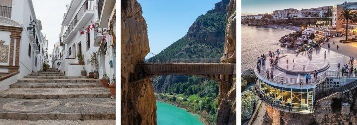 Malaga, pueblos blancos, Ronda y Caminito del Rey