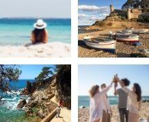 Vacaciones Singles en la Costa Brava. Media Pensión