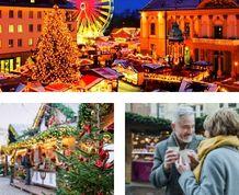 Puente de Diciembre: Mercados Navideños: de Viena a Bratislava